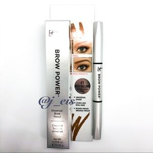 4/$25 IT COSMETICS Universal Brow Pencil in Taupe